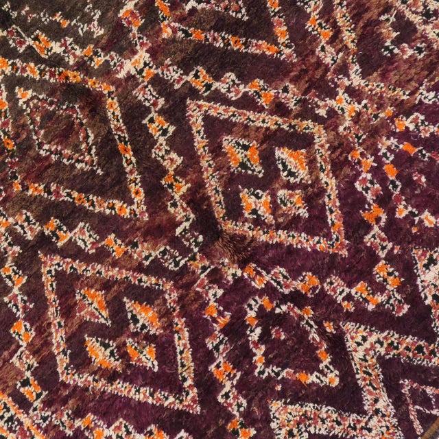 Vintage Beni M'Guild Moroccan Rug - 06'07 X 11'07 For Sale In Dallas - Image 6 of 8