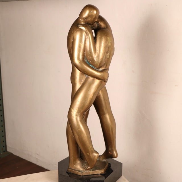 Lovers Sculpture by Louis Derbré - Image 2 of 11