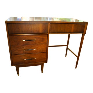 Mid Century Modern Walnut/Formica Student Desk-1960's For Sale