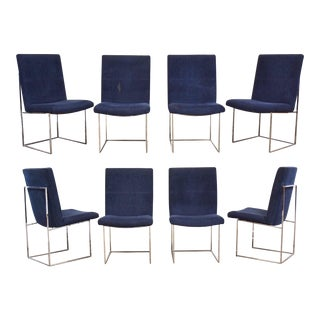 Milo Baughman for Thayer Coggin Dining Chairs- Set of 8 For Sale