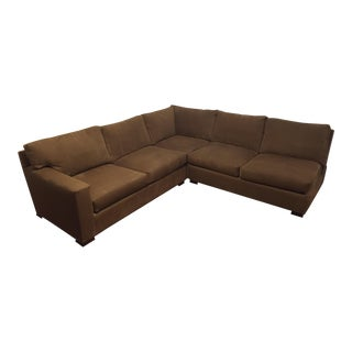 Crate & Barrel Sectional Sofa