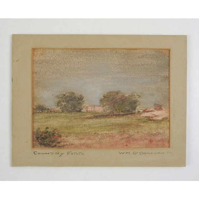 Country William O'Donovan Small Landscape Painting For Sale - Image 3 of 4