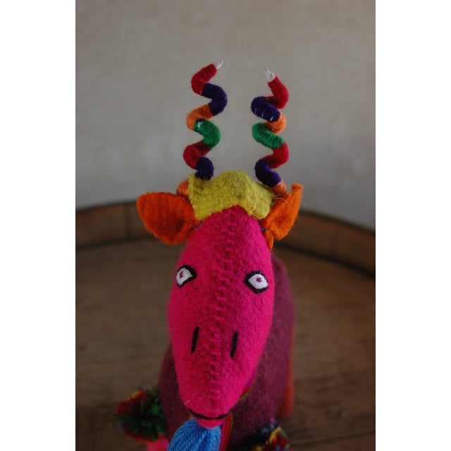 Mexican Felted Wool Animal - Image 3 of 4