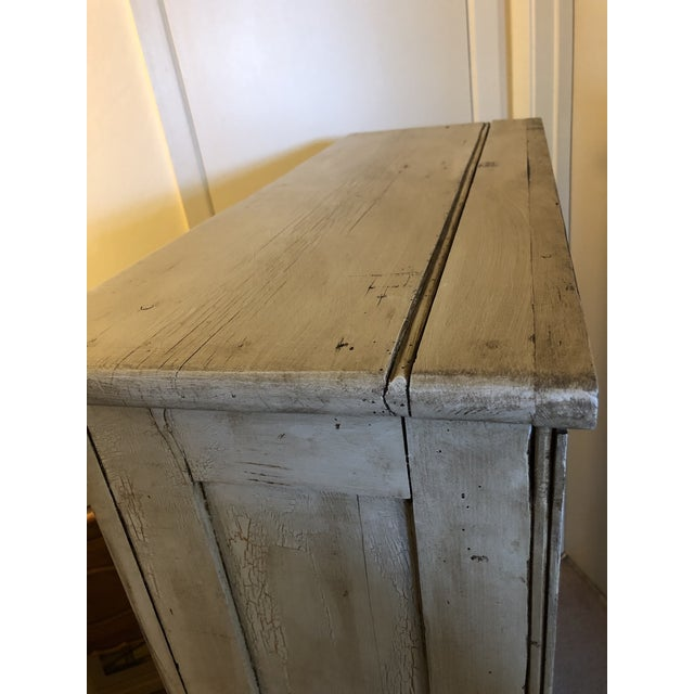 Antique French Country Painted Cupboard For Sale In San Francisco - Image 6 of 11