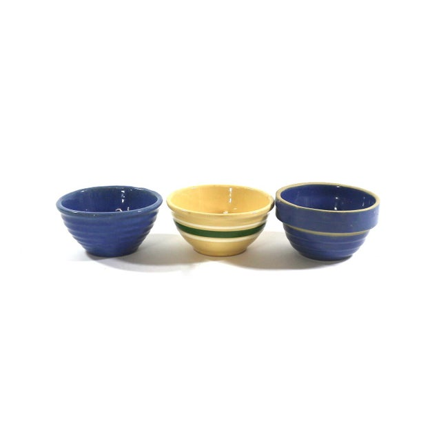 1900s Old Farmhouse Bowls - Set of 3 - Image 2 of 7