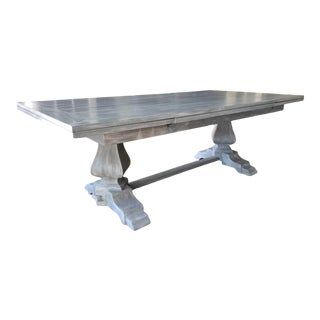 Extendable Refectory Dining Table For Sale
