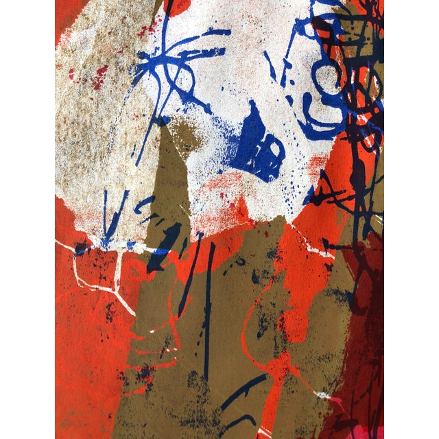 1970s Abstract Screenprint For Sale In San Francisco - Image 6 of 8