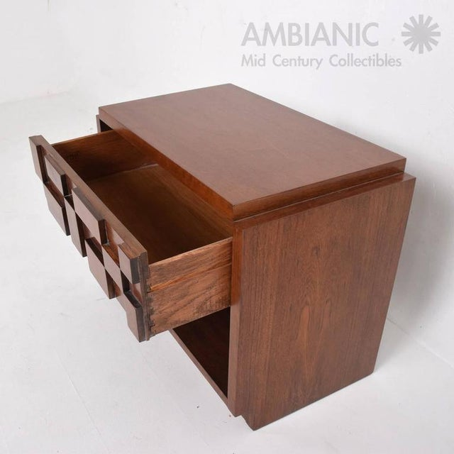 1960s Mid-Century Modern Lane Nightstand For Sale - Image 5 of 8