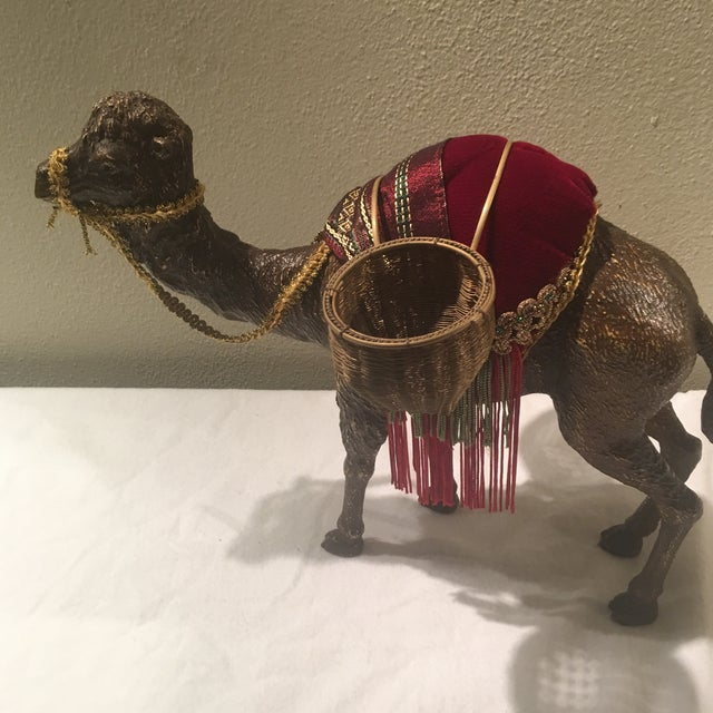 1970s Hollywood Regency Decorative Camel For Sale In Miami - Image 6 of 7