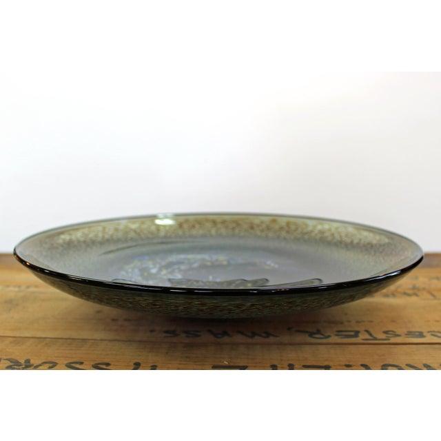 Mid-Century Modern Bertil Vallien Kosta Boda Meteor Bowl For Sale - Image 3 of 7
