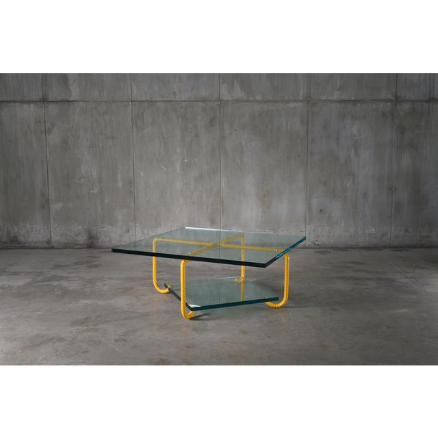 Abstract Ra Coffee Table by Artist Troy Smith - Contemporary Design - Artist Proof - Limited Edition For Sale - Image 3 of 7