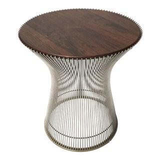 Warren Platner Rosewood Side Table
