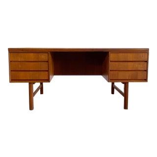 Danish Modern Executive Desk Gunni Omann Jun Mod. 76 For Sale