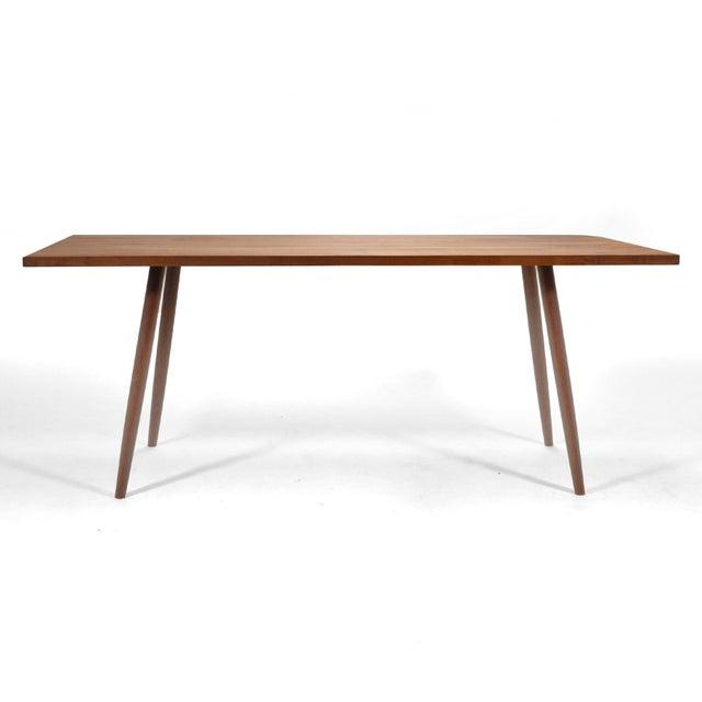 Robert Lovett Walnut Studio Craft Table/ Desk For Sale - Image 4 of 11