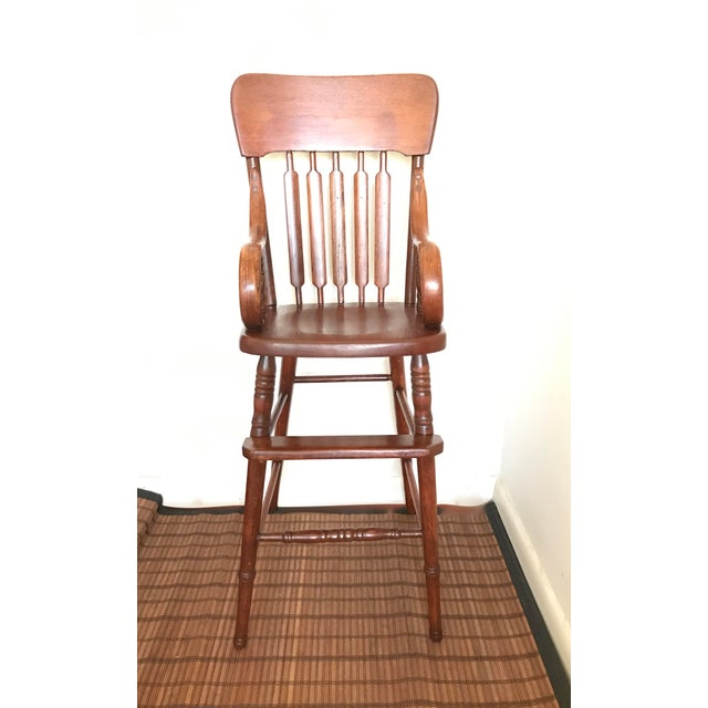Antique Bentwood Child's High Chair - Image 2 of 7