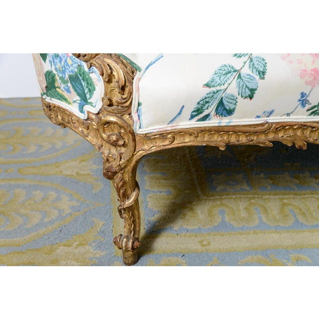 Late 19th Century French Settee For Sale - Image 5 of 11