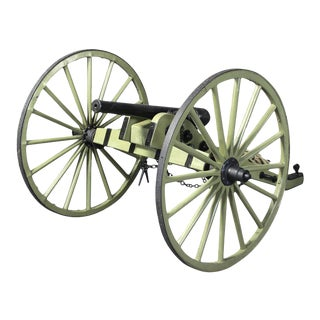 Restored Indian War Cannon