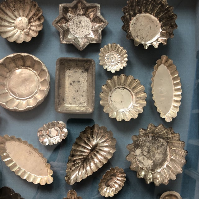 1970s Framed Collection of Tart Molds For Sale - Image 5 of 11
