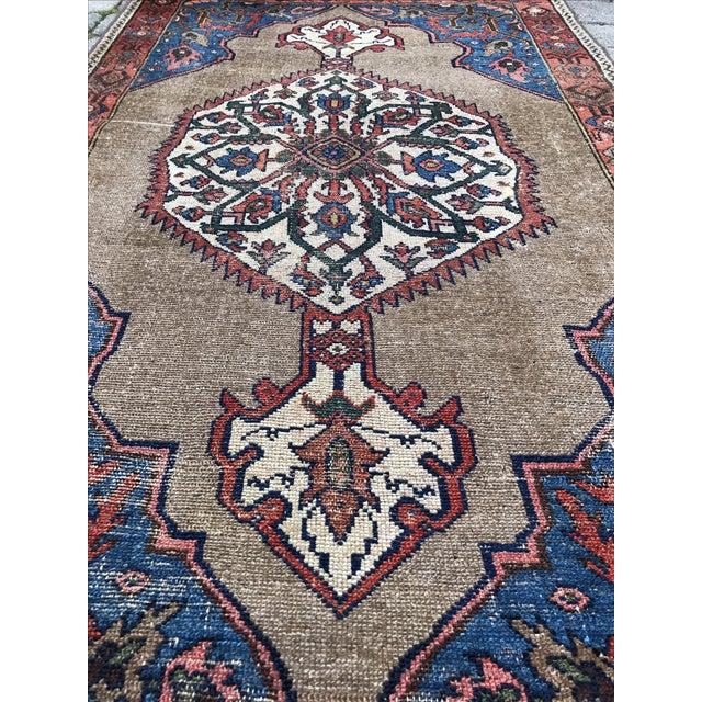 """Antique Persian Ferahan Rug - 3'5.5""""x 5'8"""" - Image 5 of 5"""