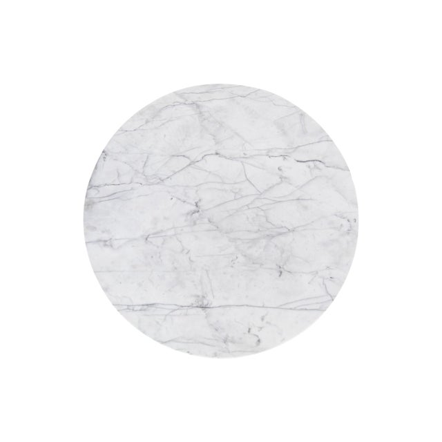 Adrian Pearsall Marble Top Coffee Table For Sale In Milwaukee - Image 6 of 9