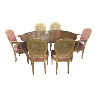 Louis XV Dining Table & Chairs For Sale