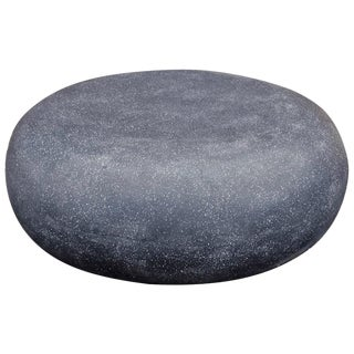 Cast Resin 'Pebble' Cocktail Table, Coal Stone Finish by Zachary A. Design For Sale
