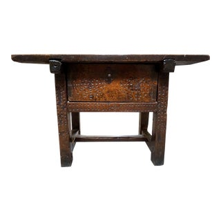 18th Century Spanish Side Table For Sale