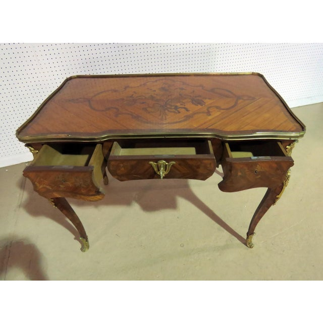 Late 19th Century 19thC Inlaid Bureau Plat For Sale - Image 5 of 6