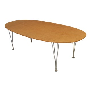 'Superelipse' Dining Table by Piet Hein & Bruno Mathsson For Sale