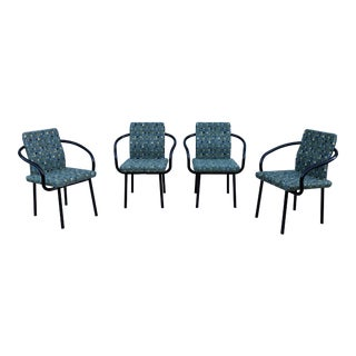Contemporary Ettore Sottsass for Knoll Mandarin Chairs - Set of 4 For Sale