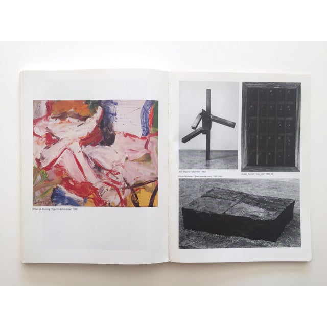 """"""" Moderna Museet Stockholm 1958 - 1983 """" Rare Vintage 1st Edition 25th Anniversary Collector's Modern Art Book For Sale - Image 10 of 13"""