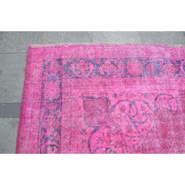 """Large Size Oriental Turkish Antique Rug - 8′3″ × 12′2"""" For Sale In Austin - Image 6 of 6"""