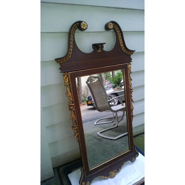 Chippendale Mahogany Mirror - Image 5 of 8