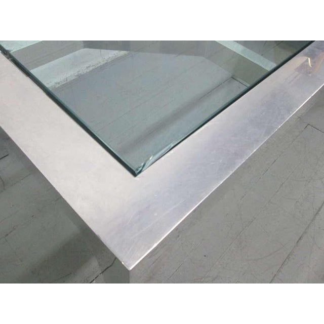 Decorative Aluminium Table or Desk For Sale - Image 4 of 9