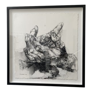 Charcoal and Pastel on Paper by Alison Lambert For Sale