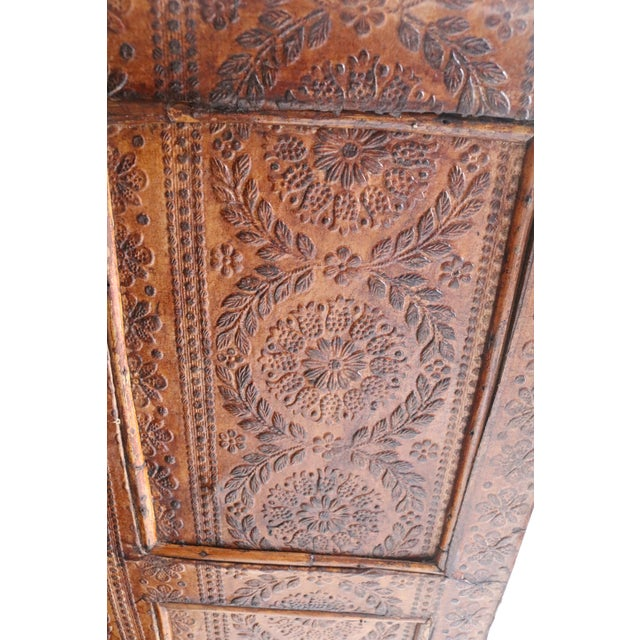 19th Century English Bamboo Vanity Cabinet For Sale - Image 9 of 13