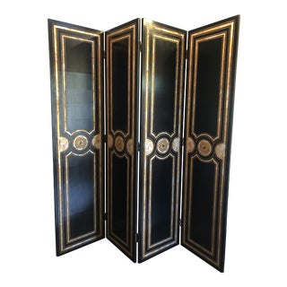 Maitland Smith Hollywood Regency Style Room Divider For Sale