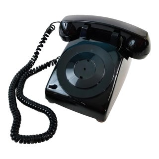 Vintage 1950s Stromberg-Carlson Courtesy Black Telephone For Sale