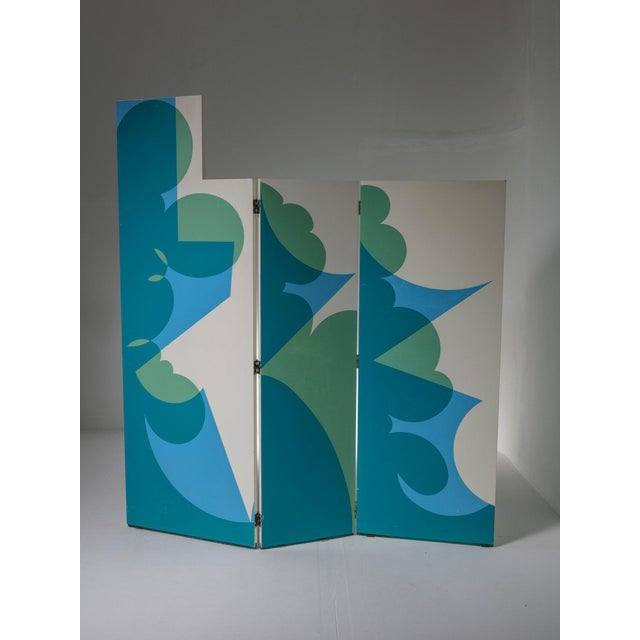 "Early 21st Century ""Balla"" Screen by Giacomo Balla for Gavina. For Sale - Image 5 of 5"