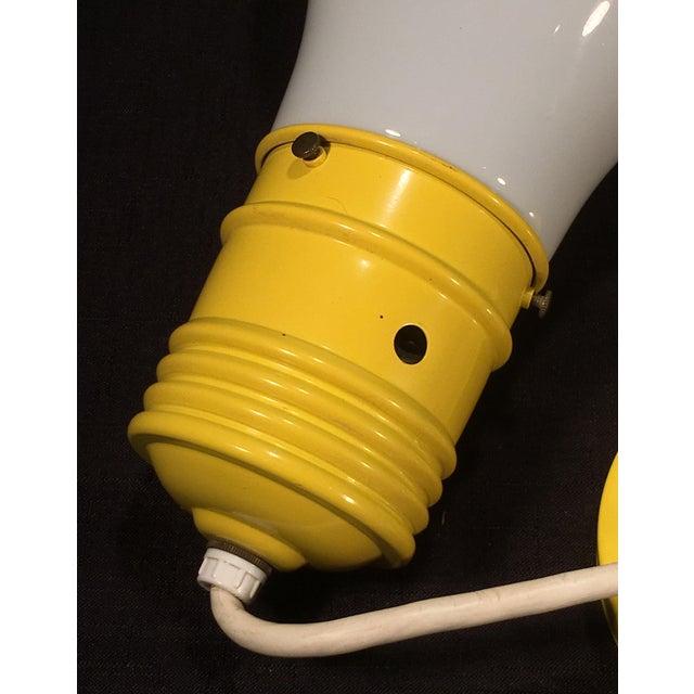 Mid 20th Century Mid Century Modern Oversized Lightbulb Pendant Ceiling Light For Sale - Image 5 of 10