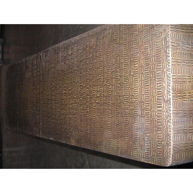 Bijou Drape Console Table Chairish