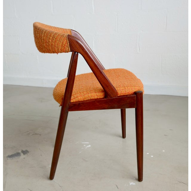 Model31 Kai Kristiansen Rosewood Chairs - Set of 3 - Image 3 of 9