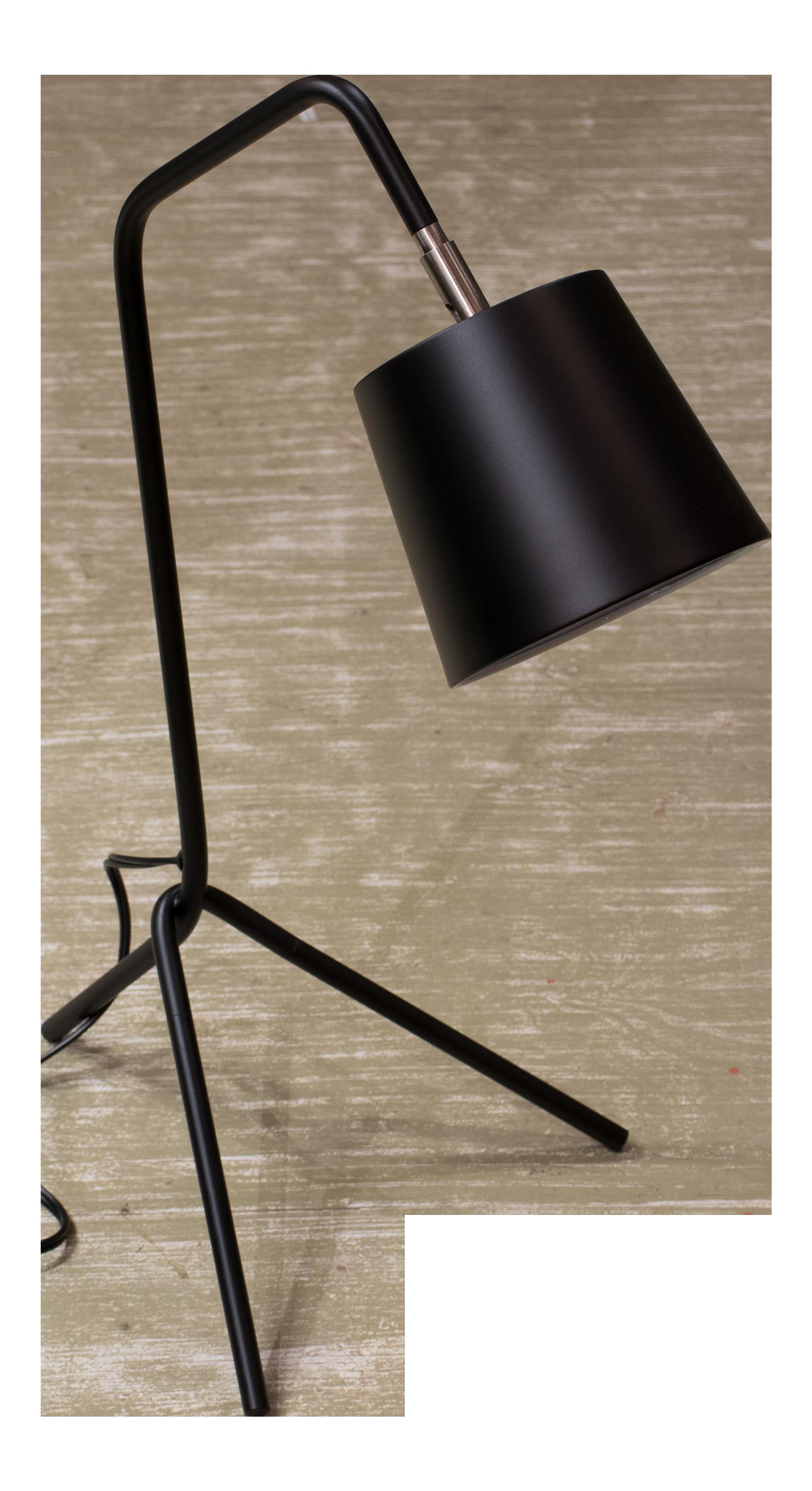 Lite Source Modern Black Table Lamp