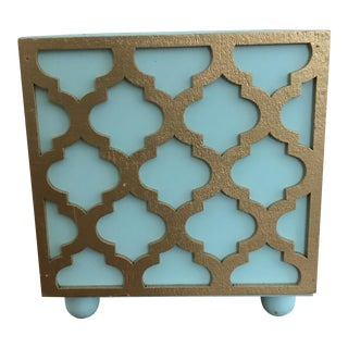 Florentine Style Fretwork Overlaid Wooden Plant Box