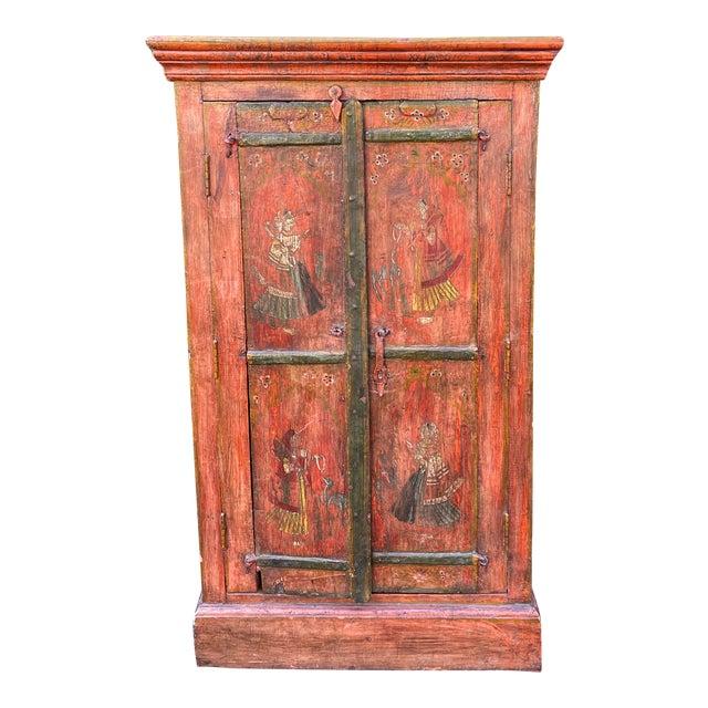 Equator Furniture Company 18th C Spanish Colonial Cabinet Mini Armoire For Sale