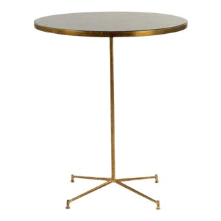 Gosia Side Table in Gold For Sale