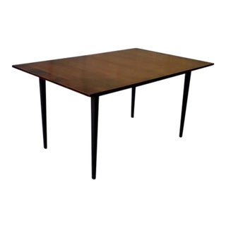 Mid Century Modern Walnut Dining Table