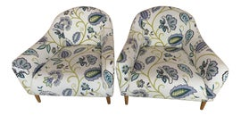 Image of Crate and Barrel Accent Chairs