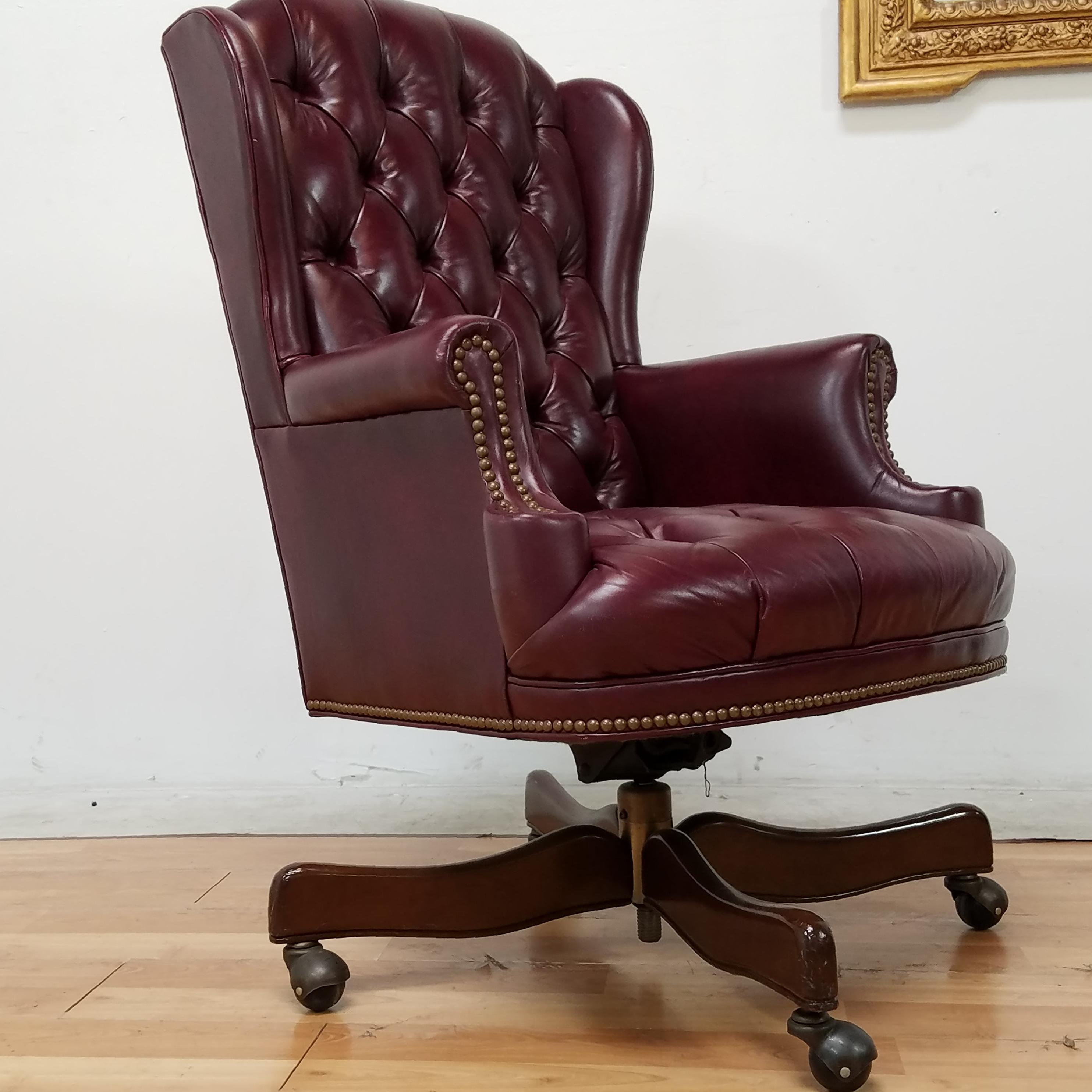 Schafer Bros Furniture 16 Chesterfield Tufted Chair Image 6 Of 7