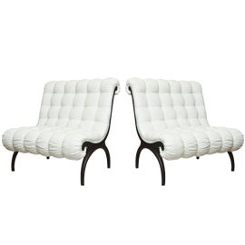 Image of Neoclassical Accent Chairs